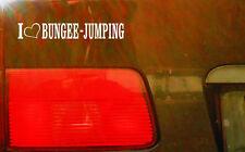 cartattoo4you AL-00822 I Love ( Herz ) BUNGEE JUMPING * Aufkleber Sport Springen