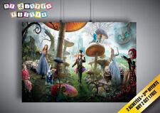 Poster TIM BURTON Alice aux pays des merveilles ALICE IN WONDERLAND Wall Art