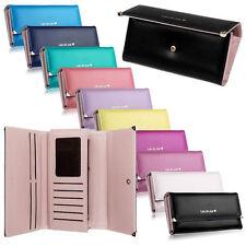Fashion Lady Women Clutch Long Purse Soft Leather Wallet Card Holder Handbag US
