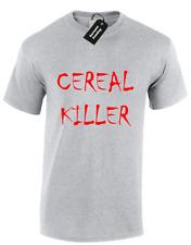Asesino Cereal para hombre T Shirt Funny lema comedia broma Diseño S - 5XL