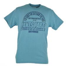 Anchorman Brick Tamland Pants Party Invitation Distressed Tshirt Tee Blue