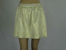 Sportsgirl Ladies Fashion Fully Lined Skirt sizes 8 10 Colour Metallic