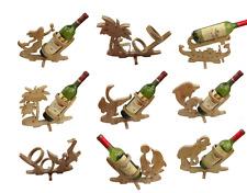 Design Weinflaschenhalter Weinständer Flaschenständer Holz Weinhalter 12 Design