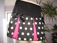 New Black white Pink Spot Cheerleader Skirt Punk Goth Lolita Party plus sizes