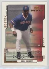 2000 Upper Deck MVP #182 Carl Everett Boston Red Sox Baseball Card