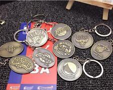 Basketball Club Metal Badge Keyring Key Chain Souvenir Gift New
