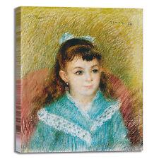 Renoir Elisabeth Maitre design quadro stampa tela dipinto telaio arredo casa