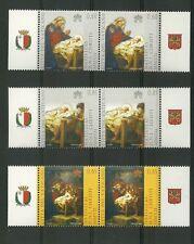Vaticano 2007 Papa Bendetto XVI Natale 1463/1465 MNH ** SERIE DOPPIA + APPENDICI