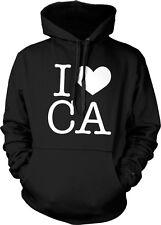 I Heart Love CA California Pride Cali Republic Golden State Hoodie Pullover