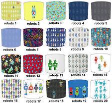 Pantallas de Lámpara Para Combinar ROBOTS Adhesivos pared & Pegatinas & Colcha