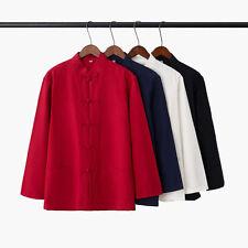 Chinese Wing Chun Kung Fu shirts Tang Suits Martial Art Tai Chi Uniform Costume