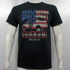 Authentic GAS MONKEY GARAGE Dallas Texas Life's a Drag US Flag T-Shirt S-2XL NEW