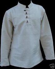 Mittelalterhemd Wikingerhemd Piratenhemd aus dicker Baumwolle