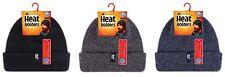 Heat Holders - Uomo caldo cappello invernale in pile in blu, nero e grigio