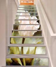 3D Pink Flower 894 Stair Risers Decoration Photo Mural Vinyl Decal Wallpaper AU