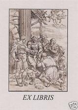 EX Libris Bookplate Andrea Andreani the Adoration of the Magi