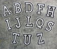 Aufnäher Aufbügler Applikation Buchstaben Alphabet ABC Letter Name Initialien