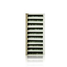 SILK Lashes Verde C-Curl 0,15mm x 8-15mm SOLO Pestañas Ojos