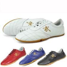 Martial Art Karate Taekwondo Kung Fu Faux Leather Shoes Tai Chi Training 2020