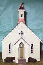 BODIE METHODIST CHURCH HO HOn3 Railroad Structure Craftsman Wood Kit CM38914