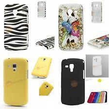 Hart Schale für Samsung Galaxy Ace 2 I8160 - Schmetterling / Zebra