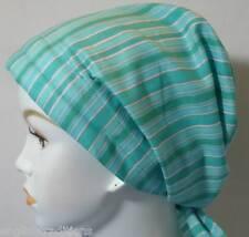Chemo Hat Scarf Hair Loss Head Wrap Turban Cap Striped Women's Cancer Scarf
