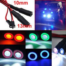 3.7-24v 1W Bianco 2 LED luce LED TESTA PER 1//10 RC Auto Modello Drift