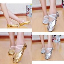 Adult Canvas Ballet Dance Shoes Slippers Pointe Dance Gymnastics Hot Sale