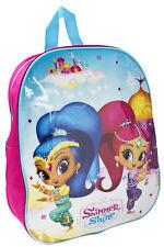 Shimmer And Shine Backpack Girls Nursery School Rucksack Kids Lunch Shoulder Bag
