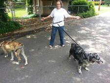 Jogging Leash 1 Dog or 2 Dog or 4 Dogs At Once. Metal Hardware CARTER PET SUPPLY