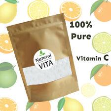 Vitamin C Powder L-Ascorbic Acid 100% Pure Pharmaceutical Grade NON GMO 500g 1kg