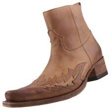 NUEVO Sendra Zapatos Hombre Botas Vaqueras BOTINES BOTAS DE PIEL 11783