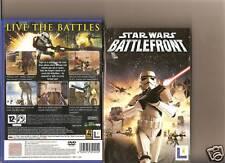 STAR WARS BATTLEFRONT PLAYSTATION 2 PS2 PS 2 BATTLE