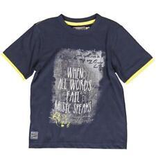 Niños Camiseta Niños Azul Oscuro gr. 116 128 von Boboli