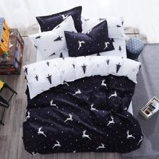 Queen/King/SuperKing Size Bed Duvet/Doona/Quilt Cover Set New Ar M348