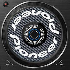 PIONEER CARBON FIBRE XDJ-RX  XDJ RX JOG / SLIPMAT GRAPHICS / STICKERS - CDJ DJM