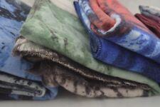 Women Wool Blend Scarf Thick Warm Winter Shawl Leaf Leaves Print Top Quality