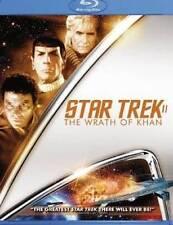 Star Trek II: The Wrath of Khan   *New*  Region A (Blu-ray Disc, 2009, Canadian)