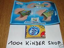 KINDER NV165 NV 165 LIVRE ANIME ANIMATED BOOK + BPZ