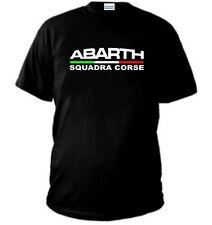 T-SHIRT ABARTH SQUADRA CORSE FIAT RACING TEAM FERRARI alfa polo felpa maglietta