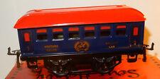 TRAIN SNCF HACHETTE HORNBY WAGON VOITURE SALON SALOON CAR 1e CLASSE SCALE O 1/43