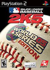Major League Baseball 2K5 World Series Edition Sony PS2 BRAND NEW FACTORY SEALED