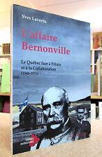L'AFFAIRE BERNONVILLE.  PAR YVES LAVERTU.