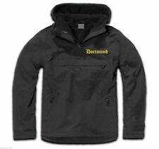 DORTMUND Windbreaker - bestickt - Schwarz/Gelb - M bis 3XL - fans stadion jacke