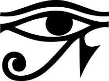 Egyptian Eye of Ra Decal Window Bumper Sticker Car Health Egypt Protection Power