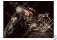 TRIUMPH Poster T120 Bonneville Sparkles 1960's 1969 1970 Suitable to Frame