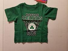 NBL TEAM Boston Celtics Toddler Sizes 9-12M  T-Shirt NWT