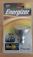 Dimmable 5.5w 50w Energizer LED GU10 Spot Bulb Lamp Warm White 1 2 4 10 Bulbs