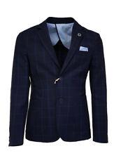 giacca uomo slim sartoriale con toppe lana stretch made in italy  decostruita new 594d3b3fadc