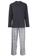Ceceba Herren Pyjama langer Schlafanzug Baumwolle Trockner bis Gr. 58